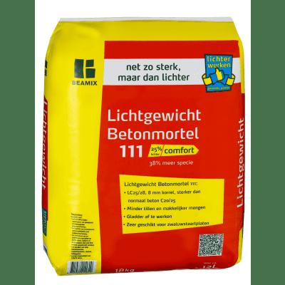 Beamix 111 Lichtgewichtbeton zak 18 kg