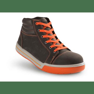 Artelli Pro-Sneaker veiligheidsschoen hoog bruin maat 42