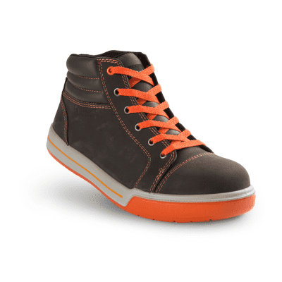 Artelli Pro-Sneaker veiligheidsschoen hoog bruin maat 44