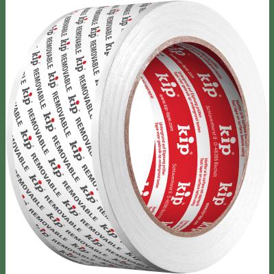 Kip Removablestucloper tape wit 50mm Rol a 33 mtr.