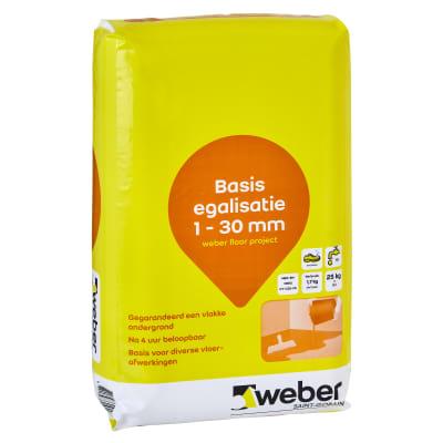 Weber Beamix Floor Project basis egalisatie 1-30 zak 25kg