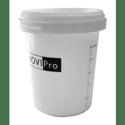 Novipro Mixemmer transparant maatverdeling 33 ltr