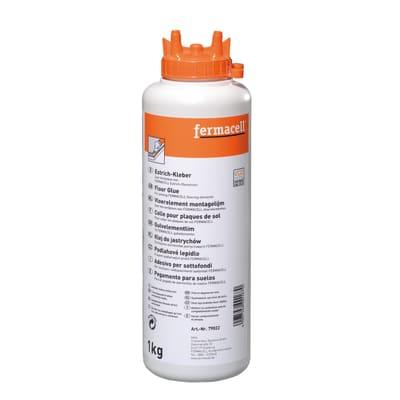 Fermacell Pu-Montagelijm fles 1kg tbv estrich element