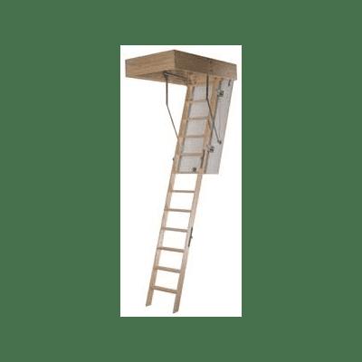 Novoferm 1300 Zoldertrap 3 delig 70x110cm plafond=260cm wit